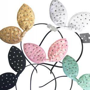 Oh lollipop Sugar candy pastel bunny ear headband